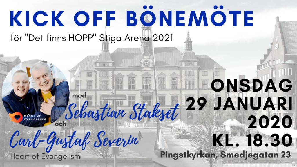 Kick off bönemöte - januari 2020